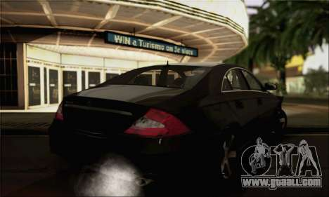 Mercedes-Benz CLS 500 for GTA San Andreas left view