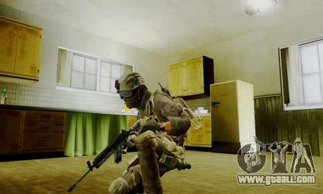 Spec Ops for GTA San Andreas forth screenshot