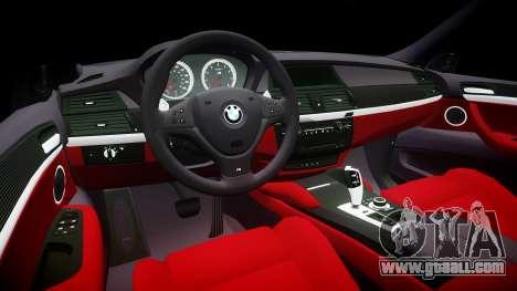 BMW X6M rims1 for GTA 4 inner view