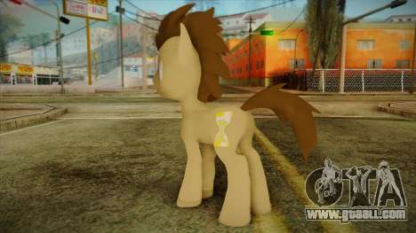 Doctor Whooves from My Little Pony for GTA San Andreas second screenshot