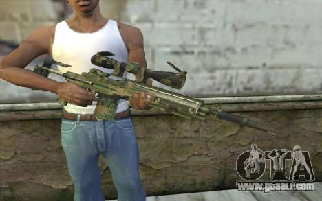 M14 EBR Digiwood for GTA San Andreas third screenshot