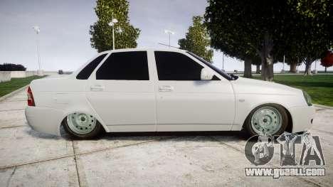 ВАЗ-2170 high quality for GTA 4 left view