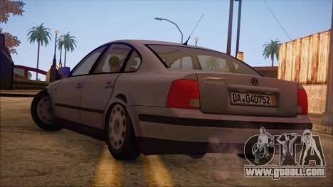 Volkswagen Passat for GTA San Andreas left view