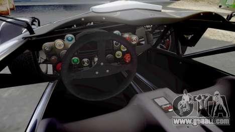 Ariel Atom V8 2010 [RIV] v1.1 FOUR C Motorsport for GTA 4 inner view
