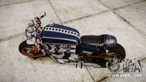 Honda CB750 cafe racer for GTA 4 right view