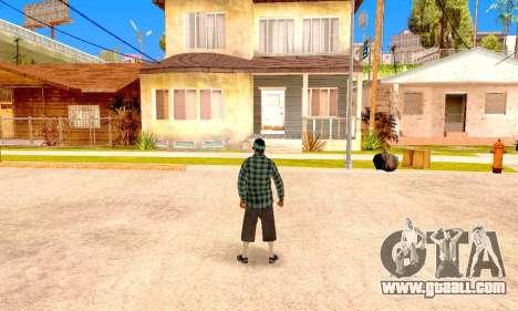 Varios Los Aztecas for GTA San Andreas sixth screenshot