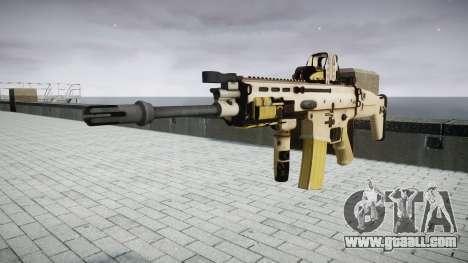 Machine FN SCAR-L Mk 16 target icon3 for GTA 4