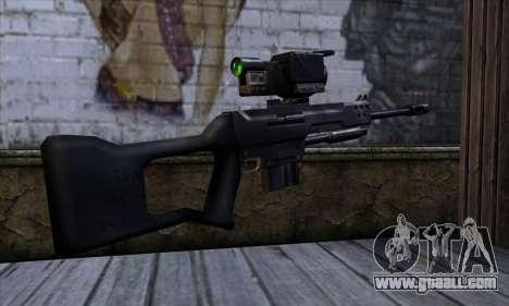 Sniper rifle (C&C: Renegade) for GTA San Andreas second screenshot