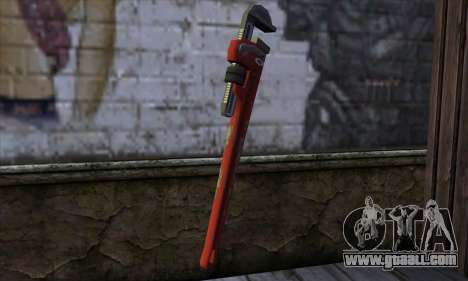 Wrench from Far Cry for GTA San Andreas second screenshot