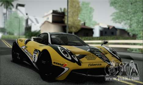 Pagani Huayra TT Ultimate Edition for GTA San Andreas right view