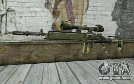 M14 EBR Digiwood for GTA San Andreas
