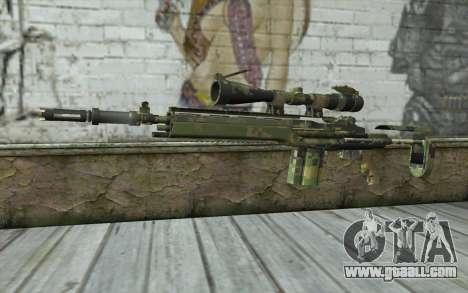 M14 EBR Digiwood for GTA San Andreas
