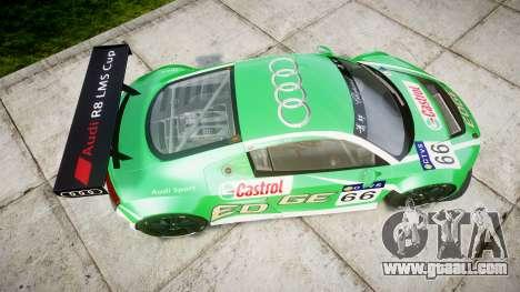 Audi R8 LMS Castrol EDGE for GTA 4 right view