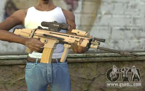 MK16 MK4CQ-T for GTA San Andreas third screenshot