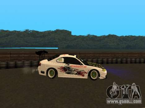 Nissan Silvia S15 VCDT for GTA San Andreas left view