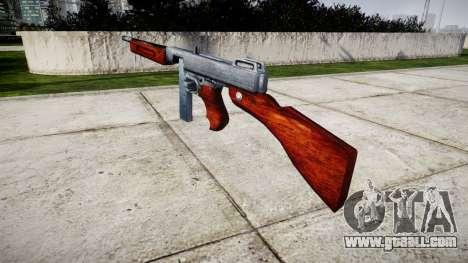 Submachine gun Thompson M1A1 box icon2 for GTA 4 second screenshot