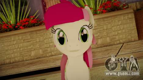 Roseluck from My Little Pony for GTA San Andreas third screenshot