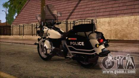 GTA 5 Police Bike for GTA San Andreas left view