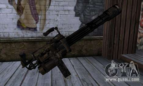Gun Volcano v1 for GTA San Andreas second screenshot