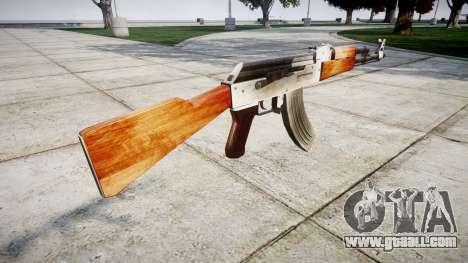 The AK-47 HD for GTA 4 second screenshot