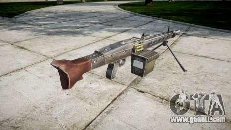 German MG3 machine gun icon1 for GTA 4 second screenshot