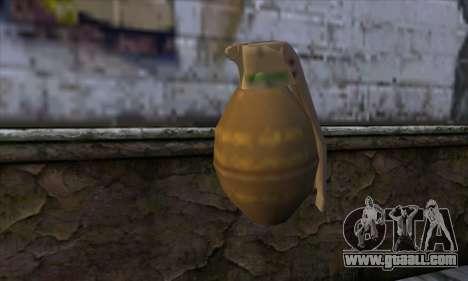 Grenade from GTA 5 for GTA San Andreas second screenshot