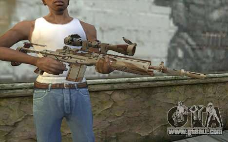 M14 EBR Chipdesert for GTA San Andreas third screenshot