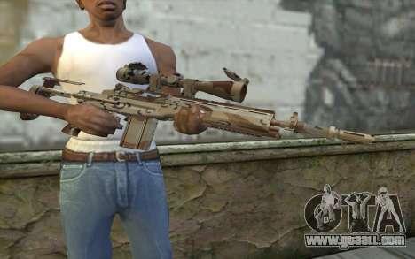 M14 EBR Chipdesert for GTA San Andreas third screenshot