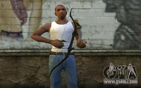 Green Arrow Bow v3 for GTA San Andreas third screenshot