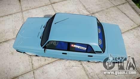 VAZ-2107 best model for GTA 4 right view