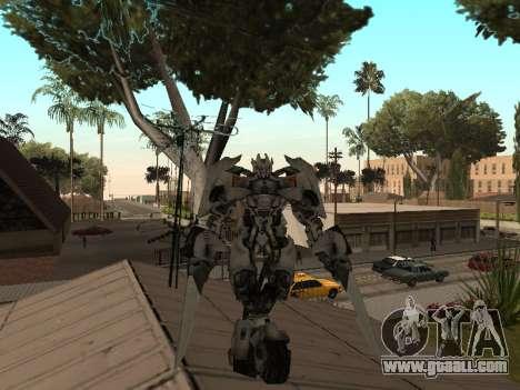 Transformers 3 Dark of the Moon Skin Pack for GTA San Andreas forth screenshot