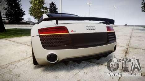 Audi R8 LMX 2015 [EPM] Carbon Series for GTA 4 back left view