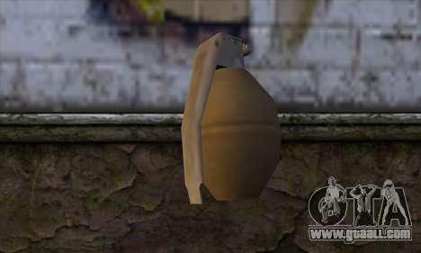 Grenade from GTA 5 for GTA San Andreas