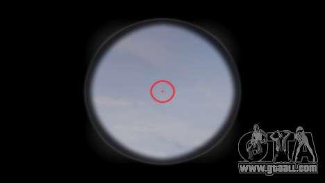 Gun MP5SD EOTHS FS c target for GTA 4 third screenshot