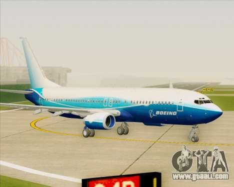 Boeing 737-800 House Colors for GTA San Andreas left view