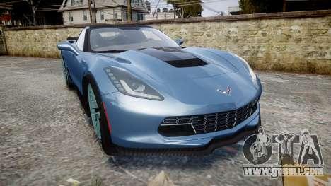 Chevrolet Corvette Z06 2015 TireMi1 for GTA 4