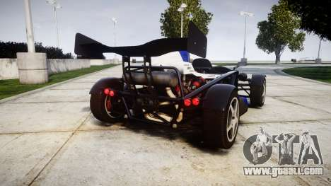 Ariel Atom V8 2010 [RIV] v1.1 Sheriftizer for GTA 4 back left view