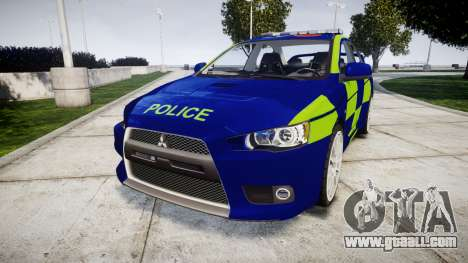 Mitsubishi Lancer Evolution X Police [ELS] for GTA 4