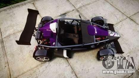Ariel Atom V8 2010 [RIV] v1.1 FOUR C Motorsport for GTA 4 right view