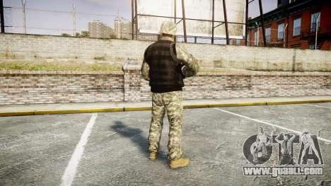 Medal of Honor LTD Camo1 for GTA 4 third screenshot