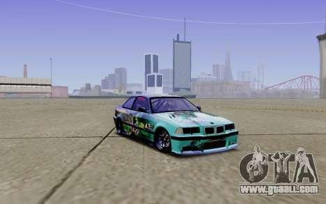 BMW M3 E36 Gorilla Energy Team for GTA San Andreas