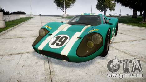 Ford GT40 Mark IV 1967 PJ Schila Racing 19 for GTA 4