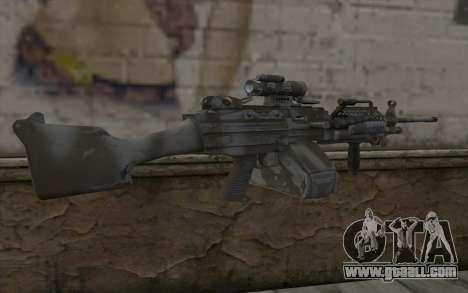 Minigun MK48 for GTA San Andreas second screenshot