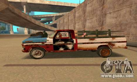 Ford PickUp Rusted for GTA San Andreas left view