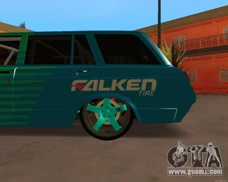 VAZ 2104 Falken for GTA San Andreas back left view