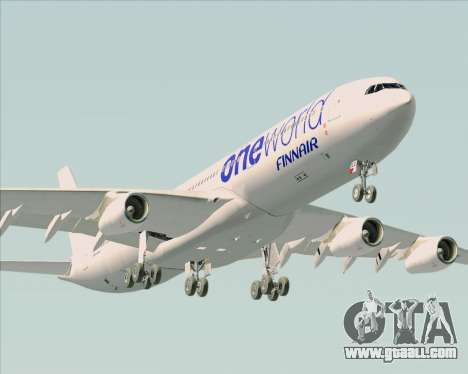 Airbus A340-300 Finnair (Oneworld Livery) for GTA San Andreas engine