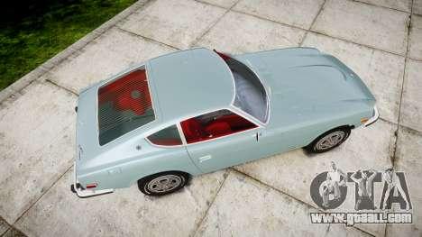 Datsun 260Z 1974 for GTA 4 right view