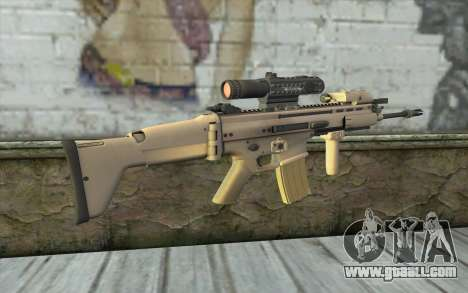 MK16 MK4CQ-T for GTA San Andreas second screenshot