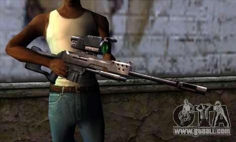 Sniper rifle (C&C: Renegade) for GTA San Andreas third screenshot