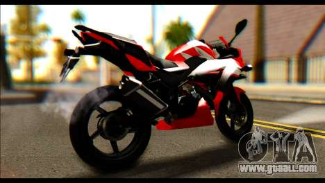 Honda All New CBR150R for GTA San Andreas left view